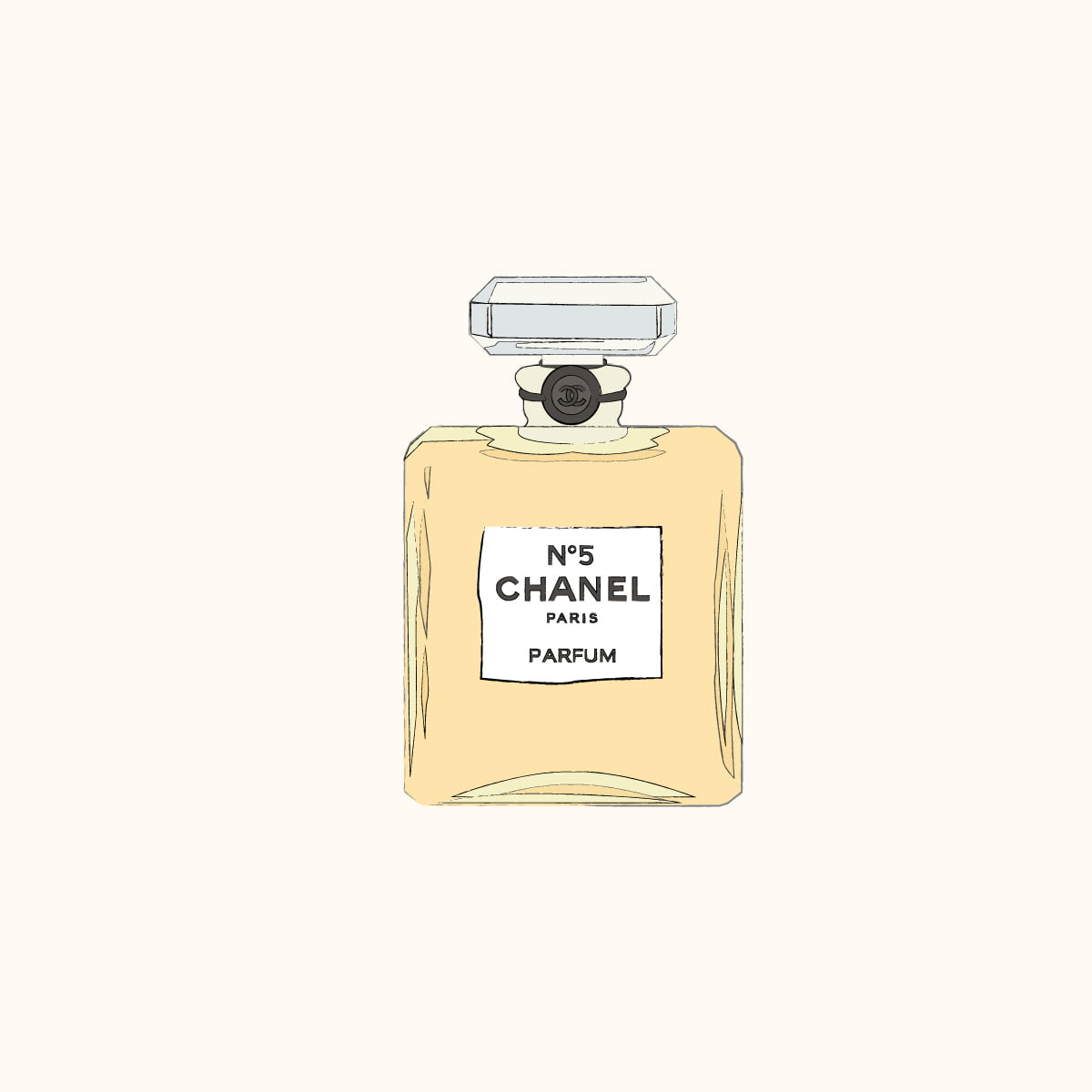 Illustratie Chanel